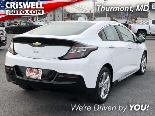 2017 Chevrolet Volt Lt In Thurmont Md Criswell Cdjr Of