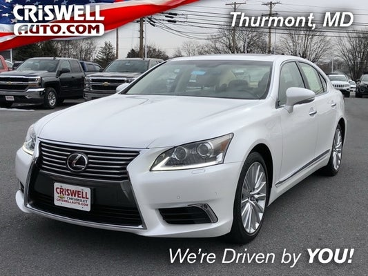 2017 Lexus Ls 460 In Thurmont Md Criswell Cdjr Of