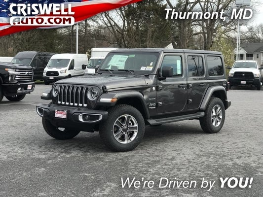 2020 Jeep Wrangler Unlimited Sahara 4x4 In Thurmont Md Baltimore Jeep Wrangler Criswell Cdjr Of Thurmont